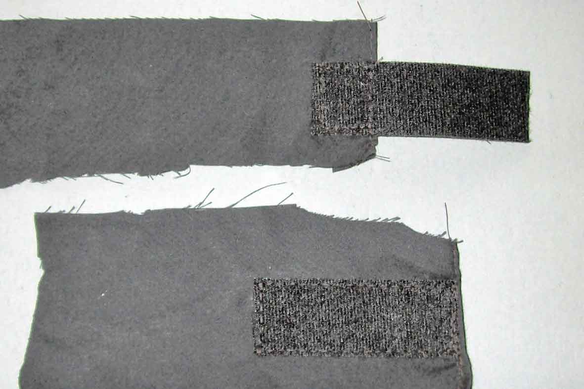 klettband auf stoff kleben mamas kram anleitung f r. Black Bedroom Furniture Sets. Home Design Ideas